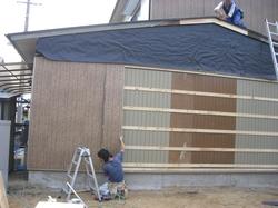 サイディング、屋根修繕